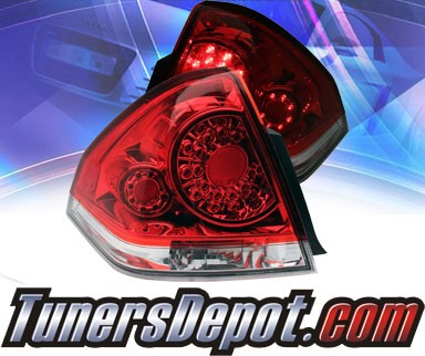 KS® LED Tail Lights (Red/Clear) - 06-13 Chevy Impala