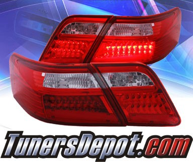 KS® LED Tail Lights (Red/Clear) - 07-08 Toyota Camry