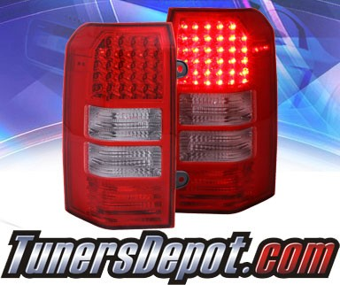 KS® LED Tail Lights (Red/Clear) - 07-11 Jeep Patriot