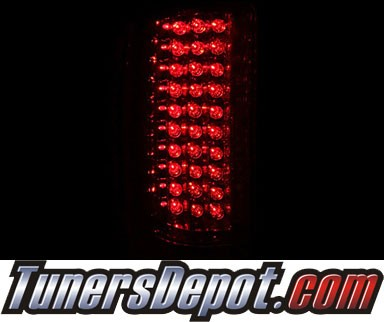 KS® LED Tail Lights (Red/Clear) - 07-13 Chevy Silverado