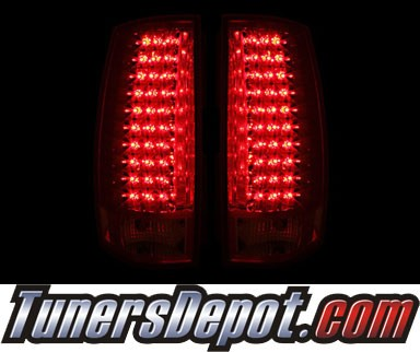 KS® LED Tail Lights (Red/Clear) - 07-13 Chevy Tahoe (G4)