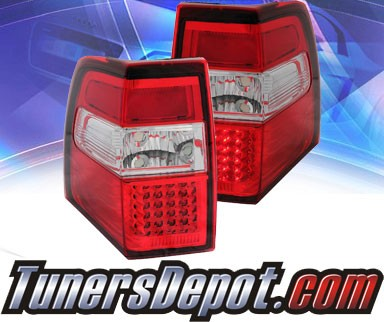 KS® LED Tail Lights (Red/Clear) - 07-13 Ford Expedition