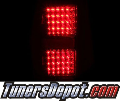 KS® LED Tail Lights (Red/Clear) - 07-13 GMC Sierra