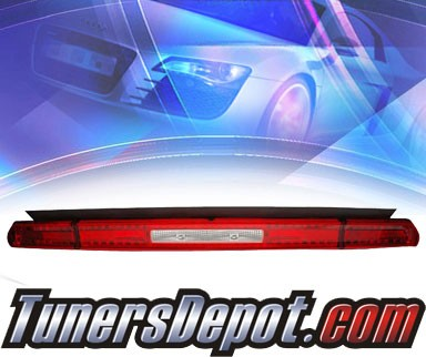 KS® LED Tail Lights (Red/Clear) - 08-10 Dodge Challenger