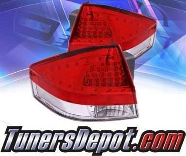 KS® LED Tail Lights (Red/Clear) - 08-10 Ford Ford 4dr