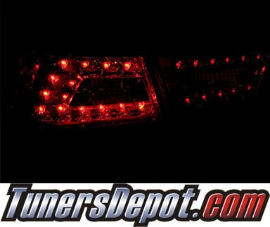 KS® LED Tail Lights (Red/Clear) - 08-12 Mitsubishi Lancer