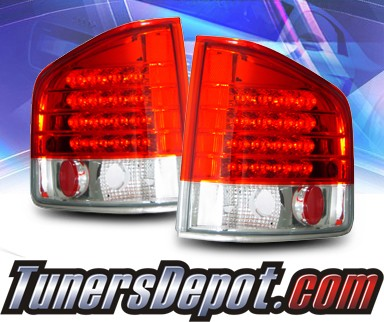 KS® LED Tail Lights (Red/Clear) - 94-04 Chevy S-10 S10