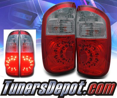 KS® LED Tail Lights (Red/Smoke) - 00-05 Toyota Tundra Double Cab
