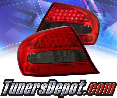 KS® LED Tail Lights (Red/Smoke) - 03-05 Chrysler Sebring 2dr.