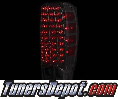 KS® LED Tail Lights (Red/Smoke) - 04-12 Chevy Colorado