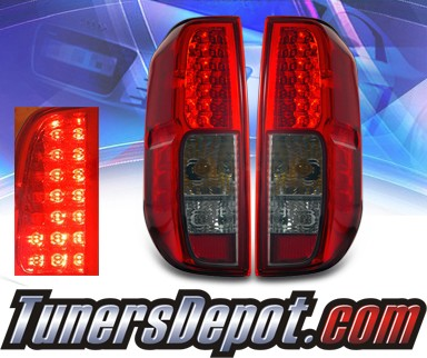 KS® LED Tail Lights (Red/Smoke) - 05-08 Nissan Frontier
