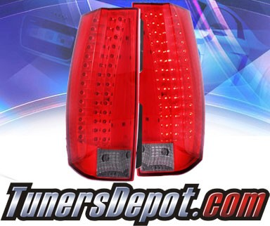 KS® LED Tail Lights (Red/Smoke) - 07-13 Chevy Tahoe (G5)