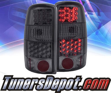 KS® LED Tail Lights (Smoke) - 00-06 Chevy Suburban (exc. Barn Door model)