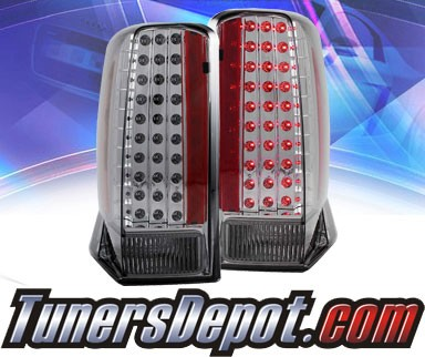 KS® LED Tail Lights (Smoke) - 02-06 Cadillac Escalade