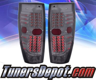 KS® LED Tail Lights (Smoke) - 02-06 Chevy Avalanche