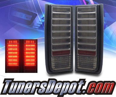 KS® LED Tail Lights (Smoke) - 02-07 Hummer H2
