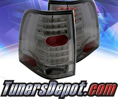 KS® LED Tail Lights (Smoke) - 03-06 Ford Expedition