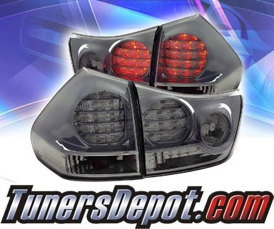 KS® LED Tail Lights (Smoke) - 04-06 Lexus RX330