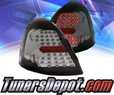 KS® LED Tail Lights (Smoke) - 04-07 Pontiac Grand Prix