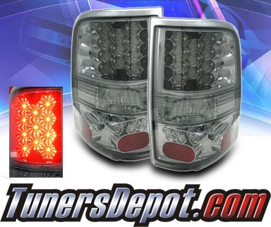 KS® LED Tail Lights (Smoke) - 04-08 Ford F-150 F150