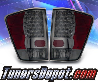 KS® LED Tail Lights (Smoke) - 04-09 Nissan Titan