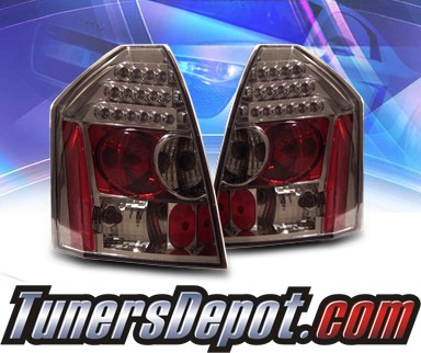 KS® LED Tail Lights (Smoke) - 05-07 Chrysler 300C