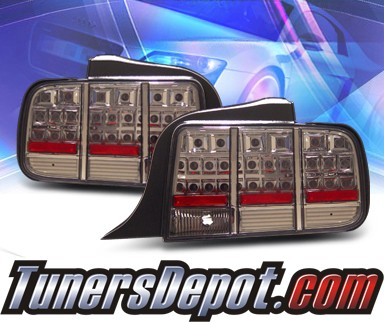 KS® LED Tail Lights (Smoke) - 05-09 Ford Mustang