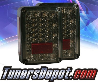 KS® LED Tail Lights (Smoke) - 07-13 Jeep Wrangler