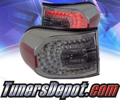 KS® LED Tail Lights (Smoke) - 07-13 Toyota FJ Cruiser