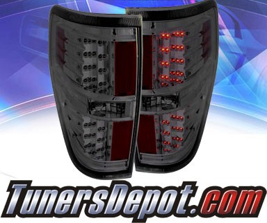 KS® LED Tail Lights (Smoke) - 09-13 Ford F150 F-150