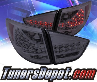KS® LED Tail Lights (Smoke) - 10-11 Hyundai Tucson