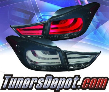 KS® LED Tail Lights (Smoke) - 11-13 Hyundai Elantra