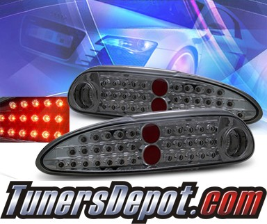 KS® LED Tail Lights (Smoke) - 93-02 Chevy Camaro