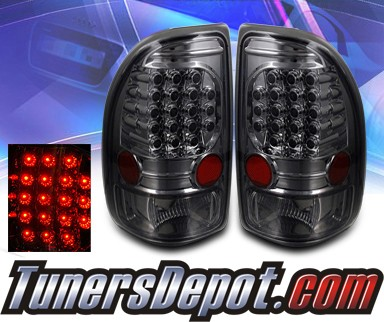 KS® LED Tail Lights (Smoke) - 97-04 Dodge Dakota