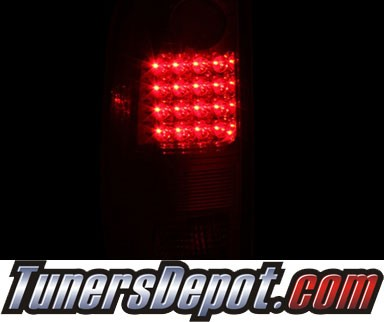 KS® LED Tail Lights (Smoke) (Gen 2) - 97-03 Ford F-250 F250