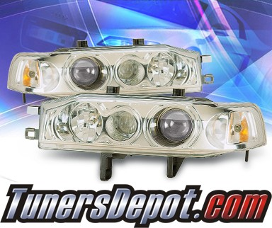 KS® Projector Headlights - 90-93 Honda Accord