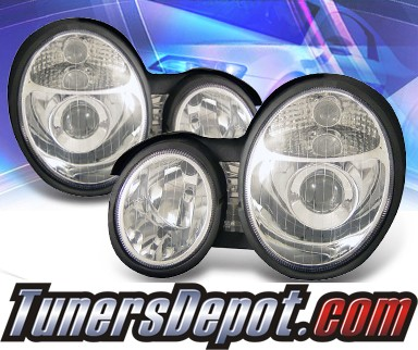 KS® Projector Headlights - 99-02 Mercedes-Benz E320 W210