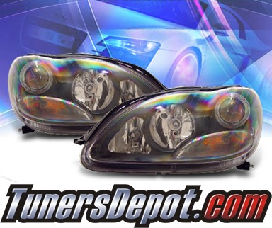 KS® Projector Headlights (Black) - 00-06 Mercedes-Benz S350 W220