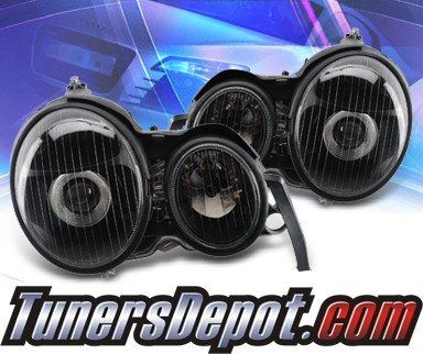 KS® Projector Headlights (Black) - 99-02 Mercedes-Benz E320 W210