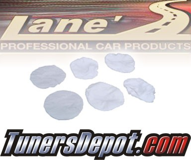 Lanes® Professional Car Care Products - 10&quto; Terrycloth Bonnet Value Pack