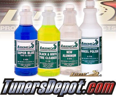 Lanes® Professional Car Care Products - Aluminum Wheel & Tire Cleaner Kit (32 oz)