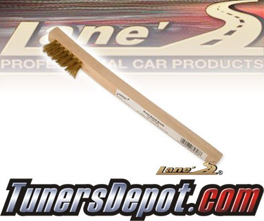 Lanes® Professional Car Care Products - Brass Toothbrush-Style Detail Brush