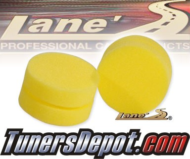 Lanes® Professional Car Care Products - Foam Tire Dressing Applicators, 2-Pack