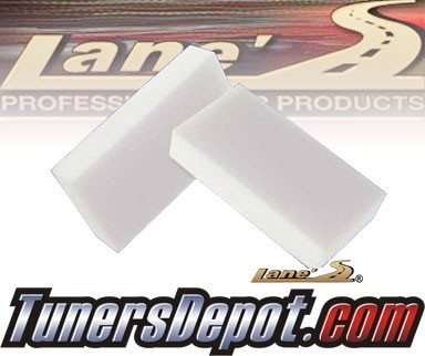 Lanes® Professional Car Care Products - Interior Detail Sponge for your Auto and Car - Pack of 12