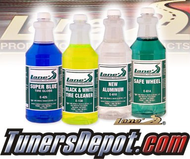 Lanes® Professional Car Care Products - Specialized Tire & Wheel Kit (16 oz)
