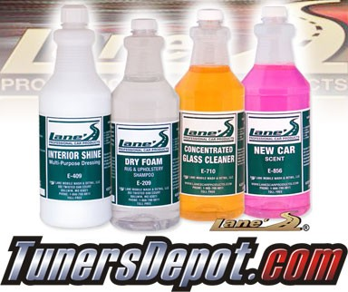 Lanes® Professional Car Care Products - Ultimate Interior Package (16 oz)