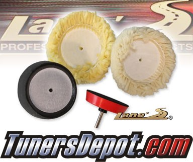 Lanes® Professional Car Care Products - Wheel Polishing Kit