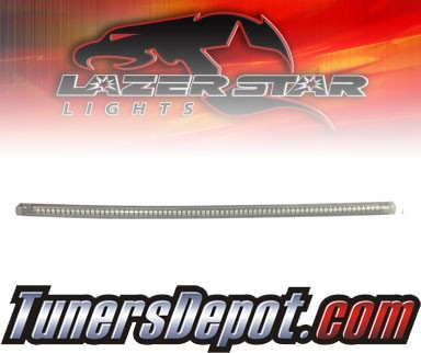 Lazer Star® Clear Flexable LED Light Strip - 12&quto; (Red)