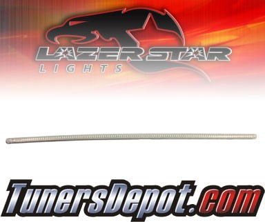 Lazer Star® Clear Flexable LED Light Strip - 20&quto; (Red)