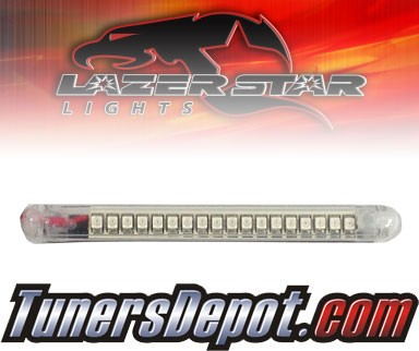 Lazer Star® Clear Flexable LED Light Strip - 3&quto; (Amber)